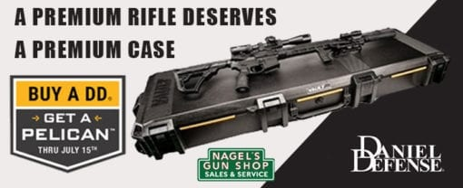 daniel defense free pelican case promotion at nagels