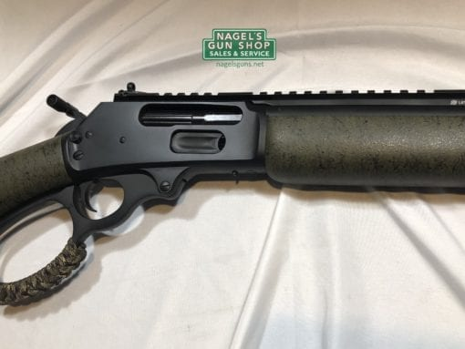 marlin custom shop 1895 in green right side of receiver at nagels