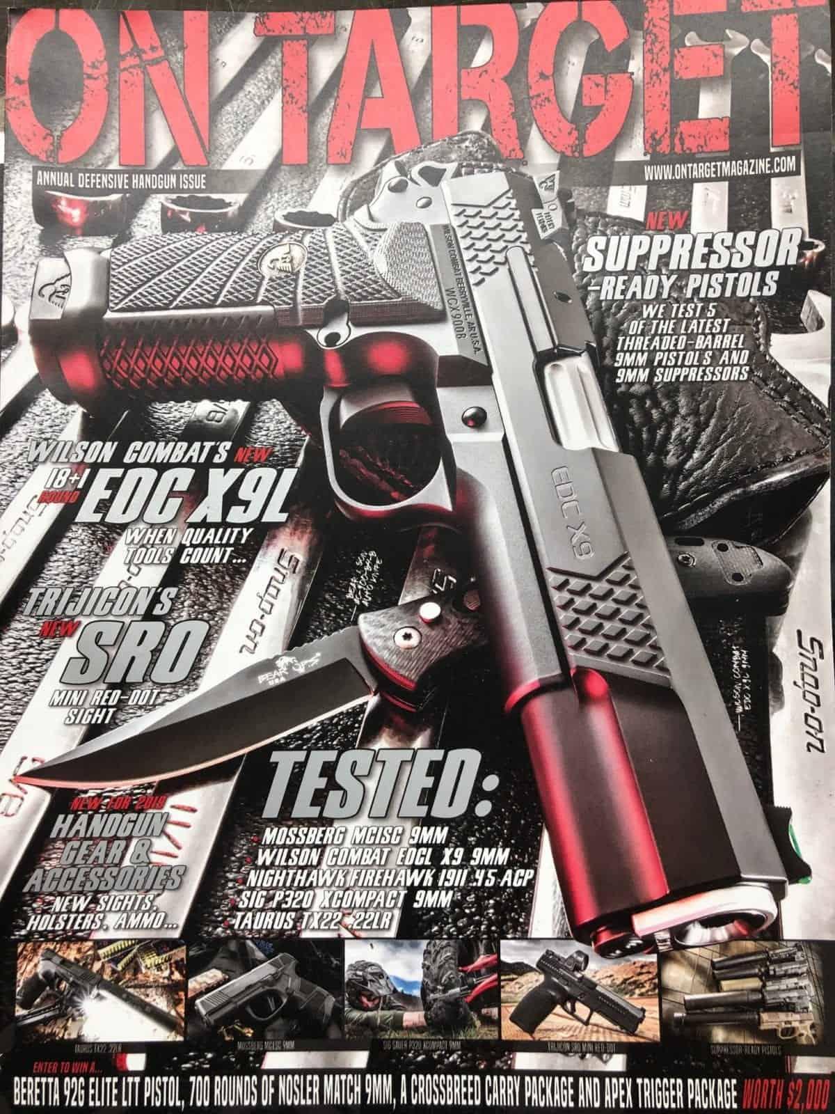 on target magazine at nagels