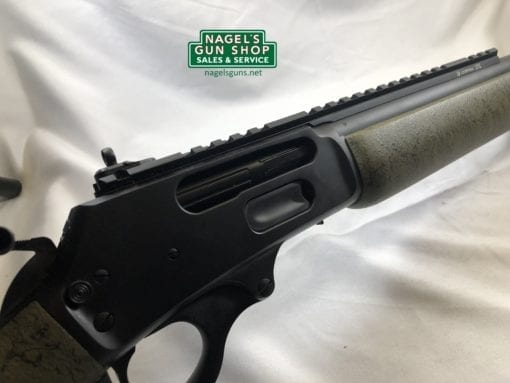 marlin custom shop 1895 receiver with green furniture at nagels
