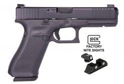 glock 17 gen5 fs night sights 9mm pistol at nagels