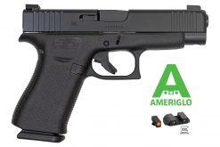 glock 48 black ameriglo night sights 9mm pistol at nagels