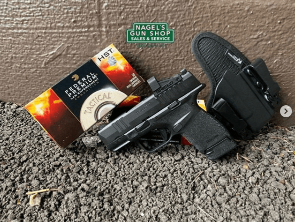 springfield armory hellcat osp with shield sights smsc 4moa red dot optic