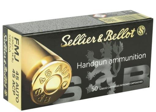 sellier & belliot 45acp