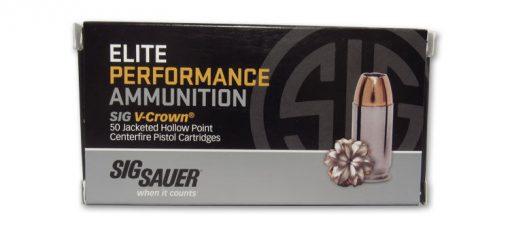 sig sauer elite performance v-crown 9mm