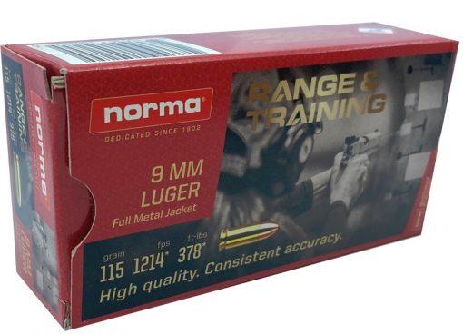 norma 9mm range & training 115gr