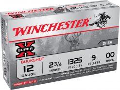 winchester 12 ga 00 buck