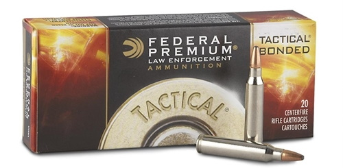 federal 223 55gr sp tactical bonded