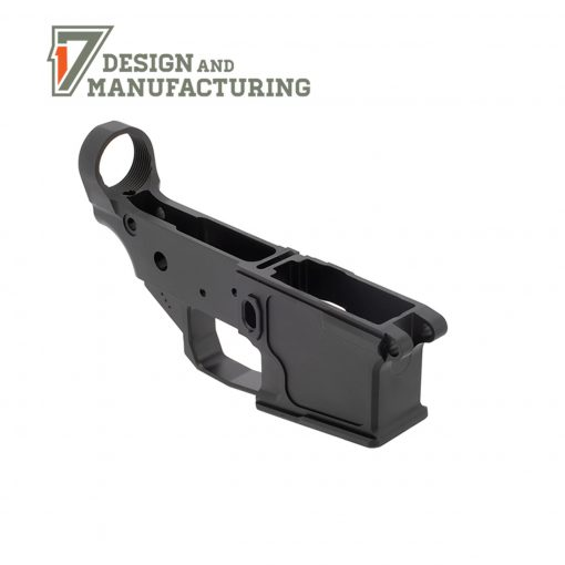 17 Design & manufacturing billet ar-15 lower receive
