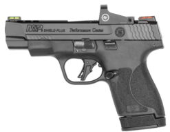 smith wesson m&p9 shield plus ported performance center