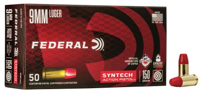 federal 9mm syntech action pistol