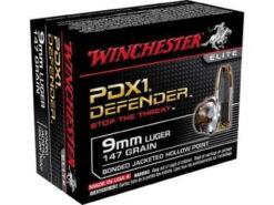 winchester 9mm defender bonded