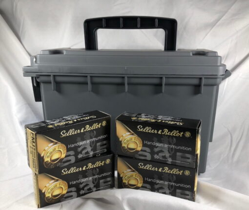 sellier & bellot 9mm safety bucket