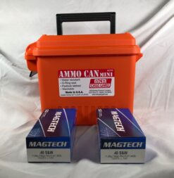 magtech 40 s&w 100rd safety bucket