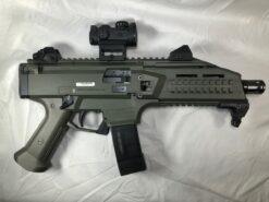 cz scorpion evo3 s1 od green romeo msr red dot optic package