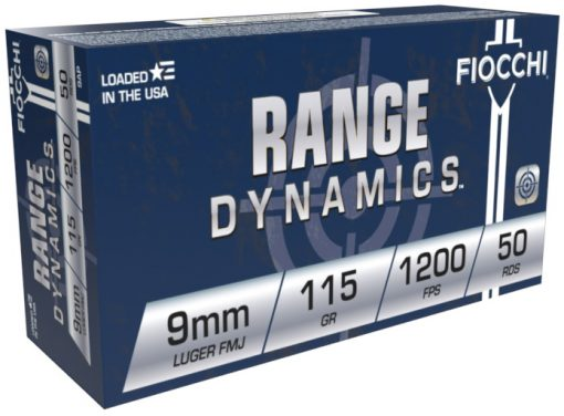 fiocchi 9mm training dynamics 115gr