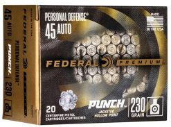 federal personal defense punch 45acp