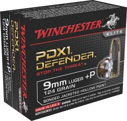 winchester defender 9mm +P