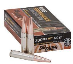 sig sauer 300 blackout copper hollow point