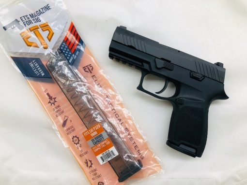 sig suaer p320 compact ets 9mm pistol package