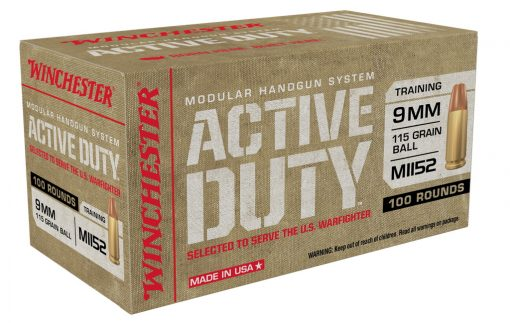 winchester active duty 9mm