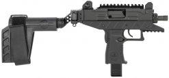 iwi uzi pro threaded pistol brace pistol
