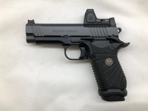 wilson combat experior compact front serrations double stack trijicon